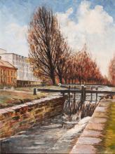 Patrick Heney ANCA CANAL LOCK, NEAR BAGGOT STREET BRIDGE, DUBLIN