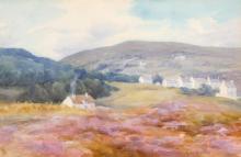 Mary Georgina Barton SWA (1861-1949) MOYCULLEN, COUNTY GALWAY