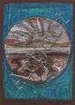 Brian Bourke HRHA (b.1936) DONEGAL LANDSCAPE [BLUE], 1974