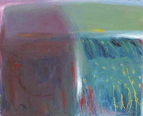 AUTUMN FIELDS, 2004 Anita Shelbourne RHA (b.1938) Signature: signed lower left; exhibition label on reverse Medium: oil on canvas Measure 40 by