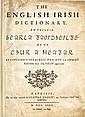 1732: MacCurtin and Begley English Irish Dictionary