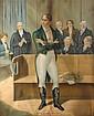 1803: Robert Emmet's last day on trial print