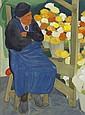 James MacIntyre RUA (b.1926) THE FLOWER SELLER