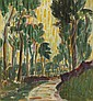 Roderic O'Conor (1860-1940) AVENUE OF TREES