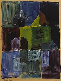 Michael Kane (b.1935) ABSTRACT
