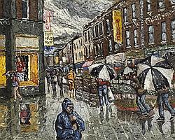 Desmond Kenny (b.1956) MOORE STREET, DUBLIN, 2003