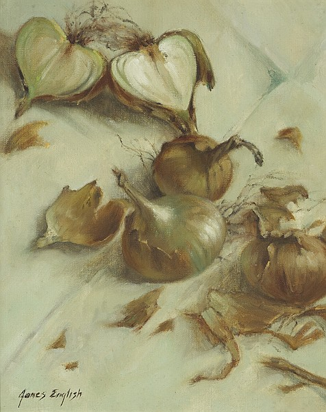 James English RHA (b.1946) ONION PEELS