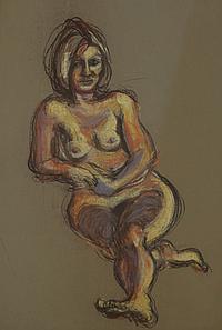Michael Kane (b.1935) FEMALE NUDE
