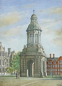 Patrick Heney ANCA THE CAMPANILE, TRINITY COLLEGE, DUBLIN