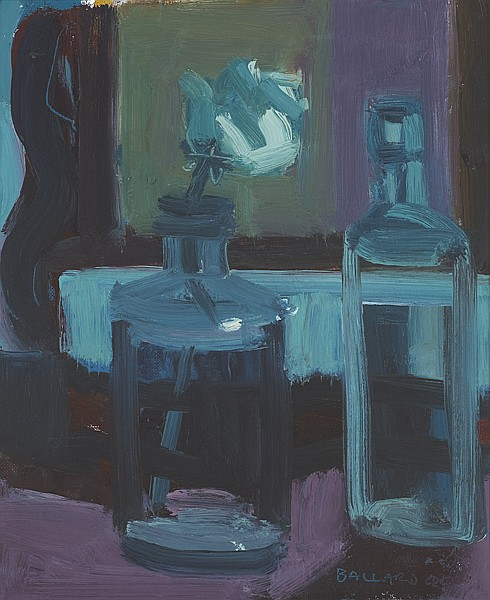 Brian Ballard RUA (b.1943) WHITE ROSE, 2004