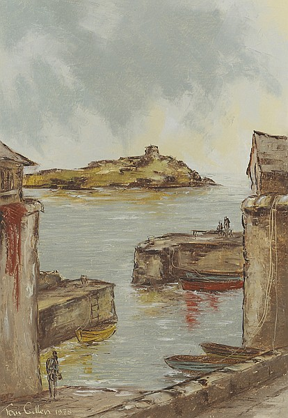 Tom Cullen (1934-2001) COLIEMORE HARBOUR, DALKEY, COUNTY DUBLIN, 1978