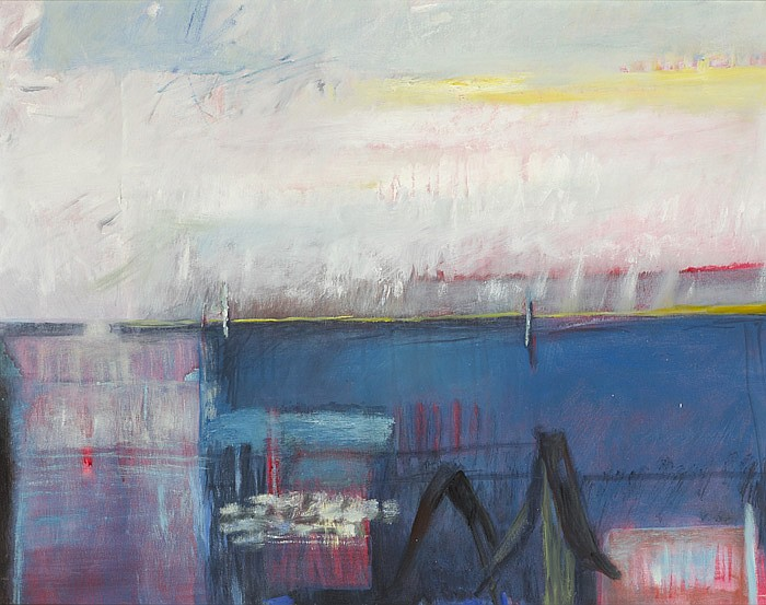 Veronica Bolay RHA (b.1941) A REMOTE PLACE, 2002