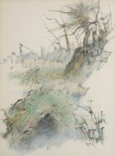 James English RHA (b.1946) POOLS ALONG THE BOYNE, 1984