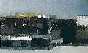 Michael Gemmell (b.1950) BUSY HARBOUR signed lower right oil on linen 30 by 46cm., 12 by 18in. Provenance: Lavitt Gallery, Cork; Private collection,