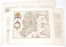 1654 Maps of Ireland by Joan Blaeu. (6)