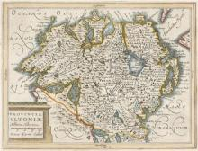 Mid 17th century maps of Leinster and Ulster, after Mercator.