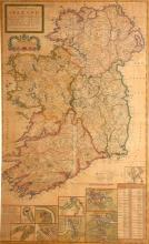 1740 A New Map of Ireland, by Herman Moll.