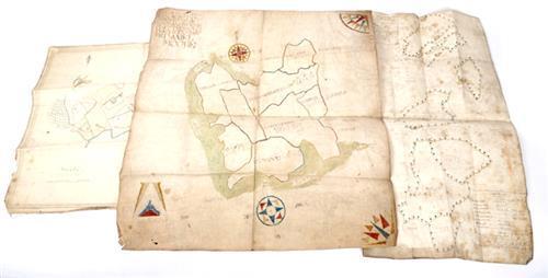 1709-1829 Estate maps of lands in Cavan, Longford, Monaghan and Wexford.