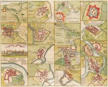 1759-1801 Maps of Ireland and Wexford and plans of the Principal Ports, Towns and Harbours of Ireland. (3)