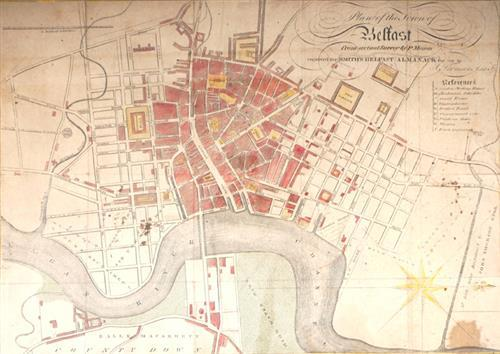 1816 Plan of Belfast