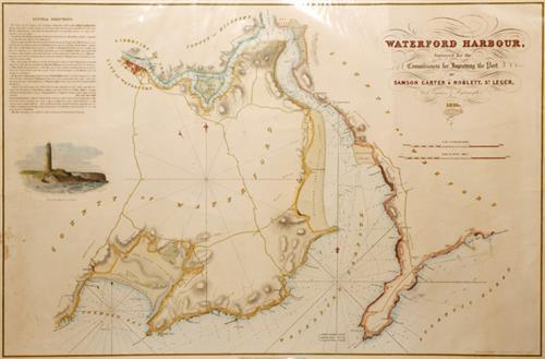 1835 Chart of Waterford Harbour