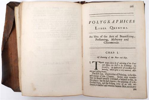 Anon. Polygraphices, 18th century herbal and almanack.
