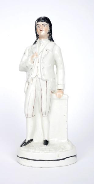 A 19th century Staffordshire figure of Henry Joy McCracken