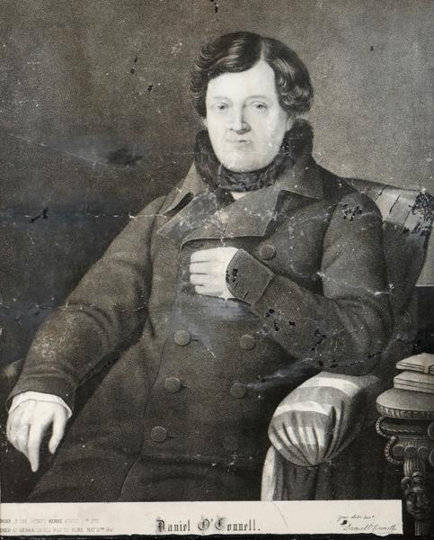 Daniel O''Connell, portrait after Carrick.