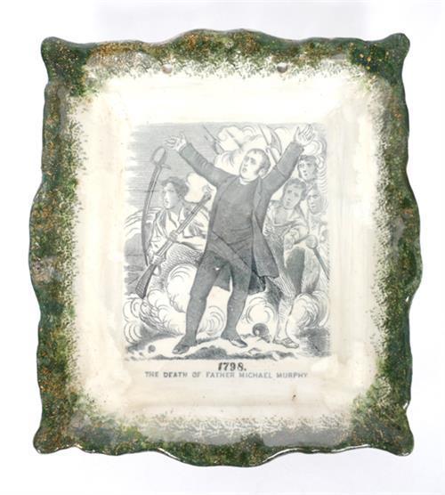 19th century Staffordshire Fr Matthew plaque.