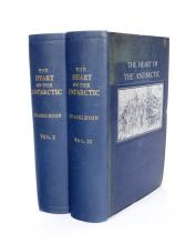 Shakleton, Earnest H. The Heart of The Antarctic: Being the Story of the British Antarctic Expedition 1907-1909. (2)