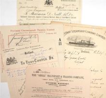 1910-1917 Belfast commercial ehemera