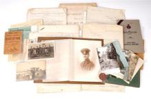 1902-1918 Lieut.-Col Edgar Monteagle-Browne. DSO. archive of correspondence, documents and ephemera.