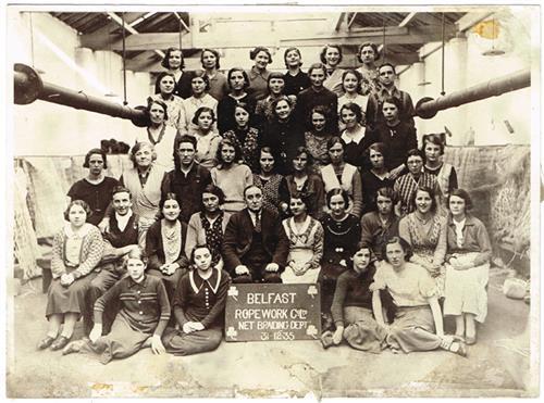 Early 20th century Belfast photographs.