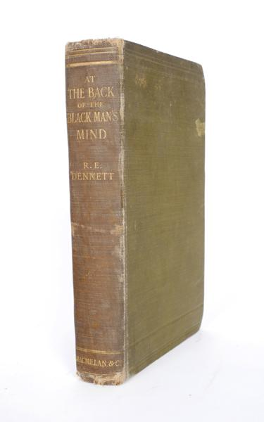 1907: Roger Casement''s signed presentation copy of ''At the Back of the Black Man''s Mind'' by R. E. Dennet
