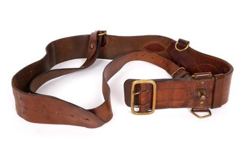 Early 20th century Sam Browne belt.