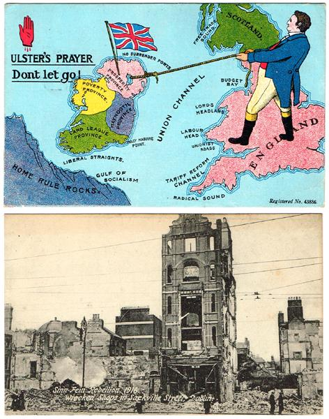 1916 Rising and other picture postcards postcards