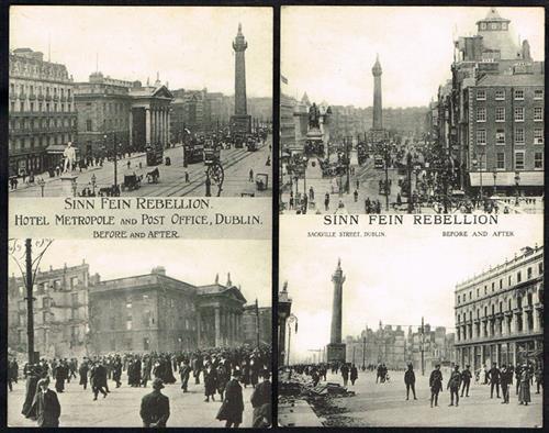 1916 Sinn Fein Rebellion postcards (11)