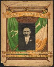 Sheet music ''Wrap the Green Flag Round Me, Boys'' and ''Irish National Songs'' (2)