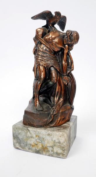 1966: 1916 Rising commemoration sculpture of ''The Dying Cúchulainn'' by Oliver Sheppard