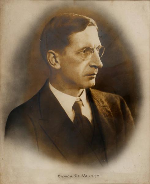 1930s Eamon de Valera portrait photograph.