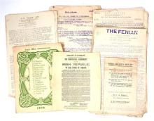 1922-1936 Collection of Republican ephemera.