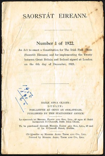 1922-1937 Constitutions (2)