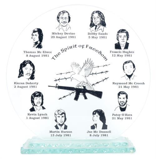 1981 Hunger Strike commemorative plaque