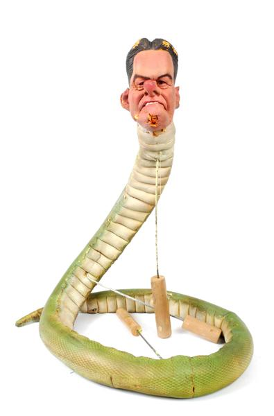 1984-1996 Peter Mandelson ''Spitting Image'' puppet.