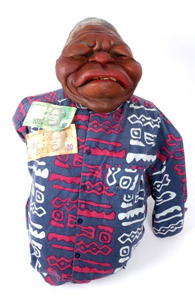 1984-1996 Nelson Mandela ''Spitting Image'' puppet.