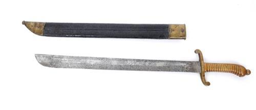 1845-pattern German fusilier''s short sword.