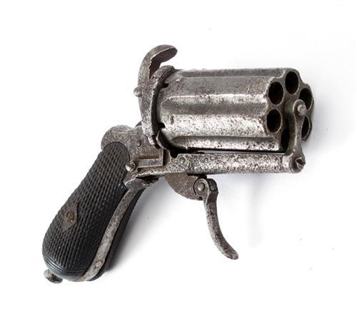 1870s Pepper pot pistol.