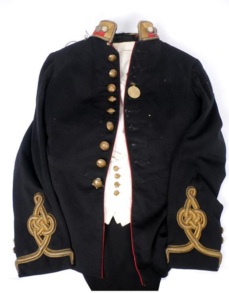 1914-1918 Royal Artillery mess tunic, waistcoat and trousers.