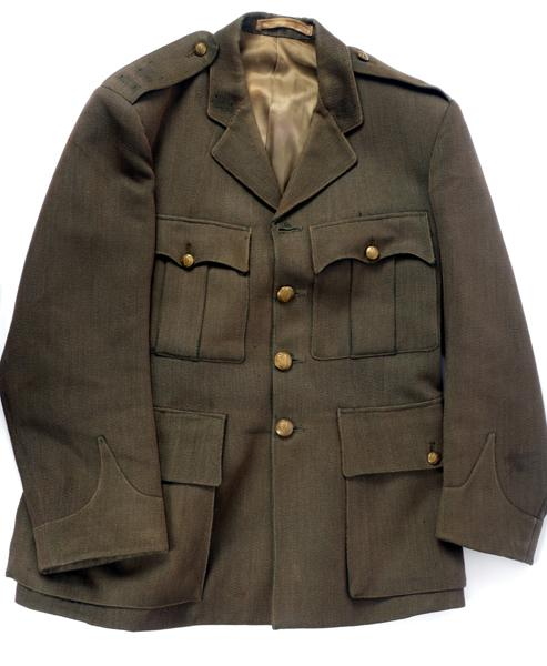 1920s Irish Army officer''s service dress tunic.