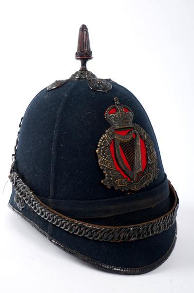 1902 pattern Royal Irish Constabulary helmet.